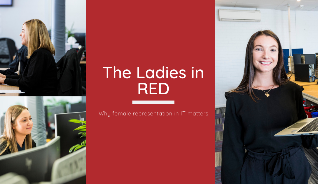 The Ladies in RED: Why female representation in IT matters